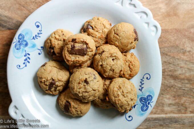 Kodiak Cakes Chocolate Chip Cookies on plate