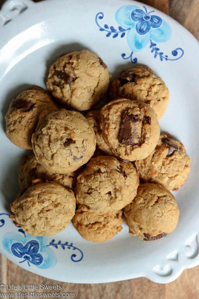 overhead view of cookies