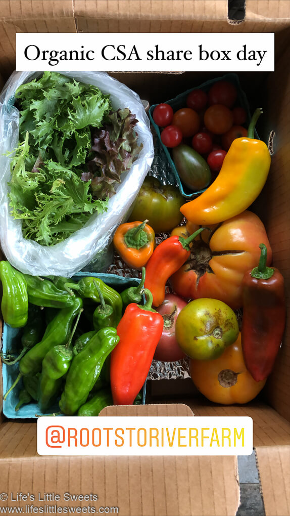 Organic CSA Share Box Week 5