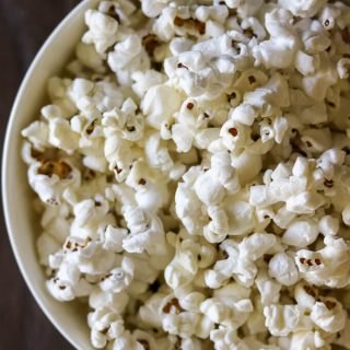 Stove Top Dutch Oven Popcorn
