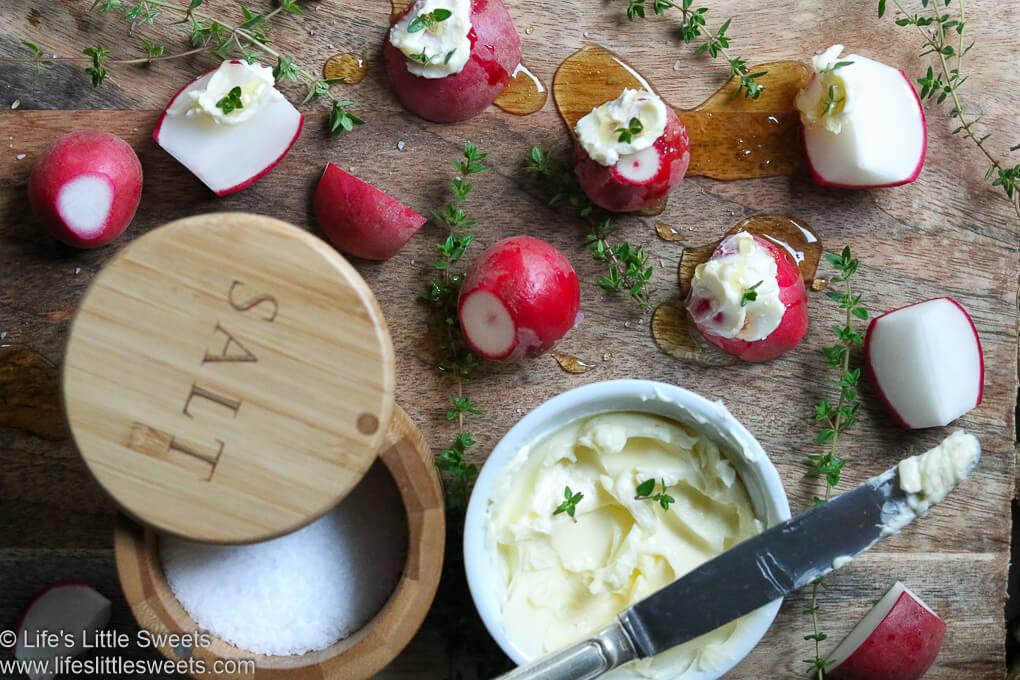 Butter Salt Thyme Honey Radishes