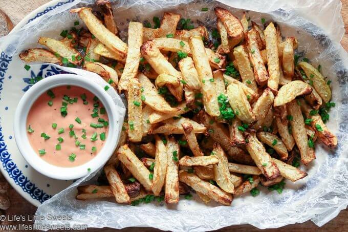 Air Fryer Kohlrabi Fries