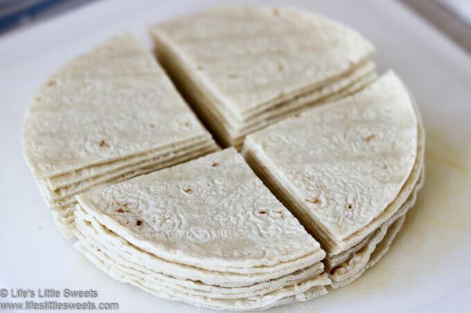 cut flour tortillas