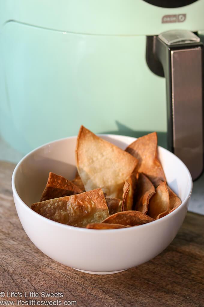 (How To Make) Air Fryer Tortilla Chips