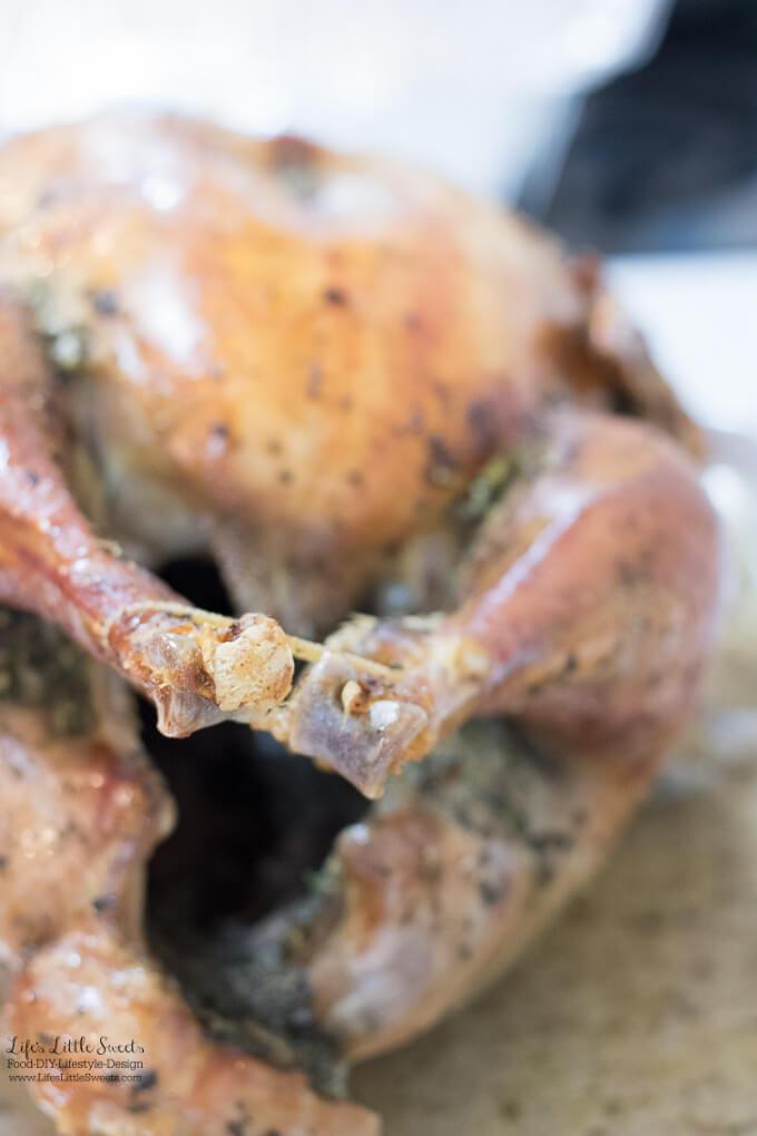 Dry Brine Roast Turkey