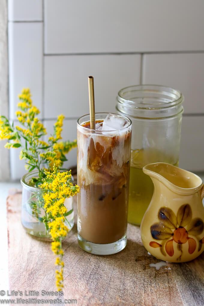 Goldenrod Iced Coffee