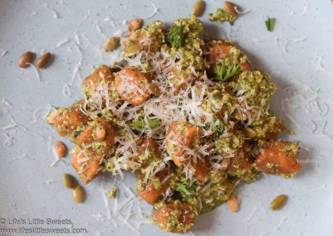 Pumpkin Gnocchi with Pepita Pesto