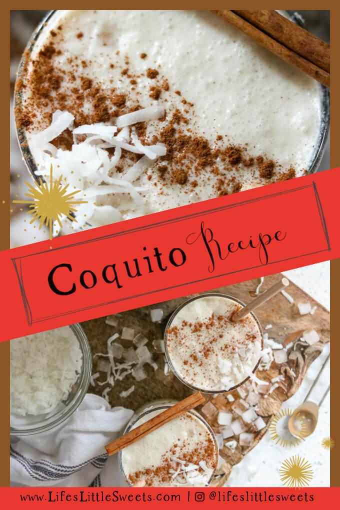 Coquito - Puerto Rican Eggnog