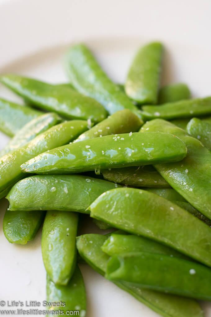 Sautéed Sugar Snap Peas and Snow Peas