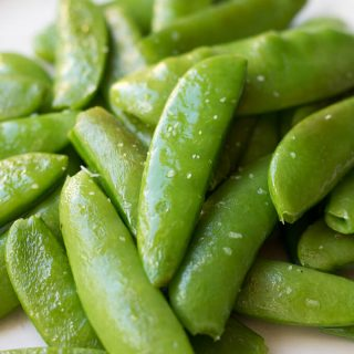 Sautéed Sugar Snap Peas and Snow Peas