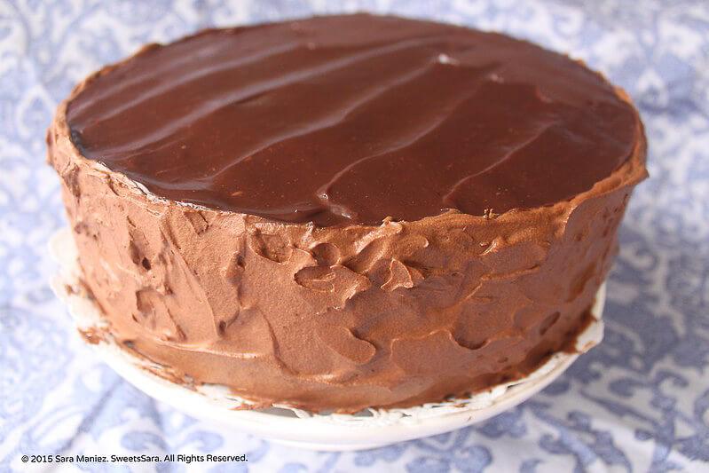Fondant Felines Chocolate Cake