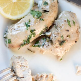Lemon Herb Baked Chicken Tenders