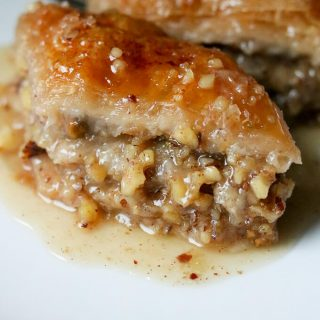 Maple Syrup Baklava