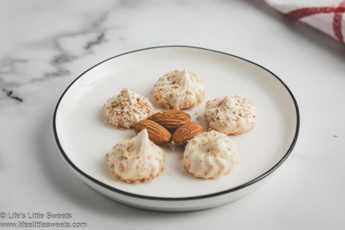 almond meringue kisses