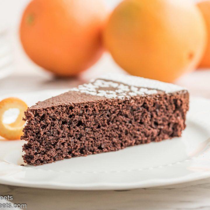 Chocolate Orange Almond Cake