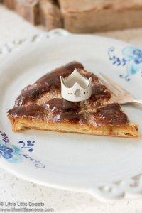 Galette des Rois (King Cake) slice