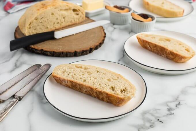 No-Knead Bread (Dutch Oven) with bread