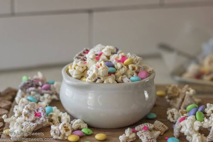 Bunny Bait Recipe in a bowl on the counter
