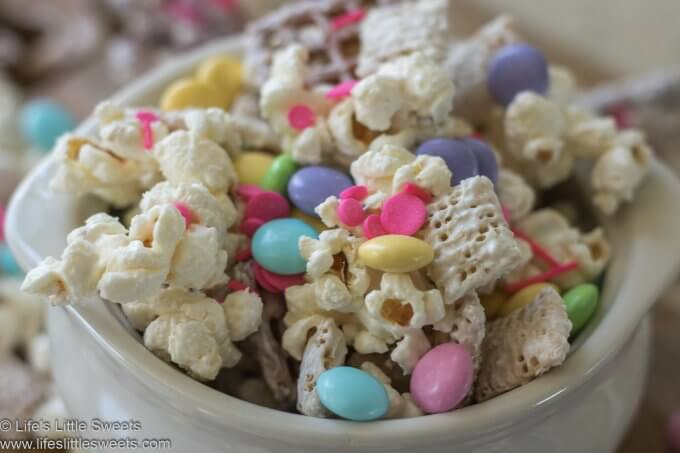 Bunny Bait recipe in a bowl close up