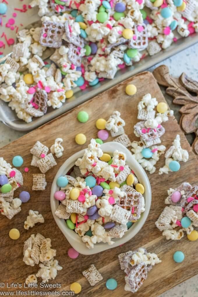 Bunny Bait Recipe overhead in a bowl