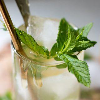 Apple Cider Vinegar Drink Recipe close up