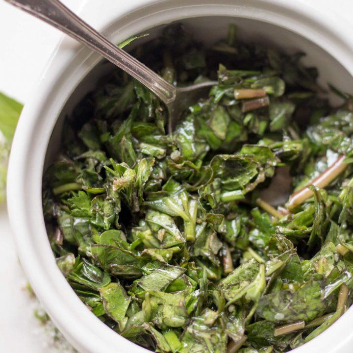 Purslane Herb Salad